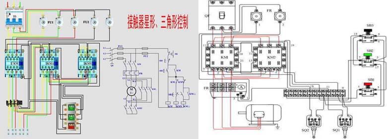 排污泵二次回路接线图